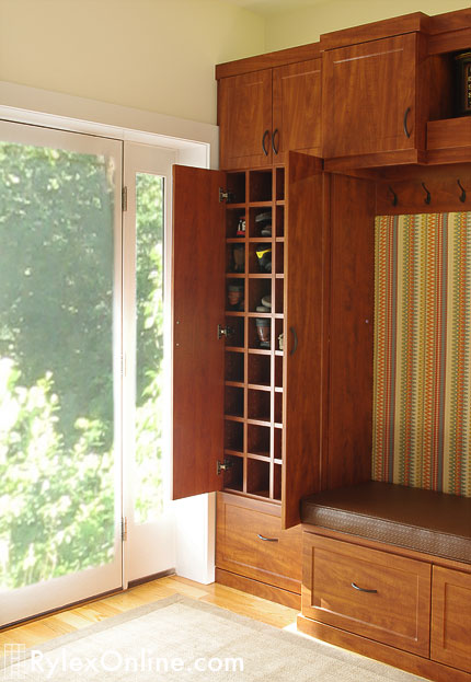Entryway Storage Cabinet Shoe Storage Bench New