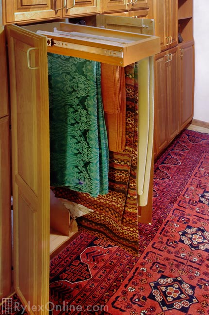 Table Cloth Storage Drawer Organizer For Table Linens