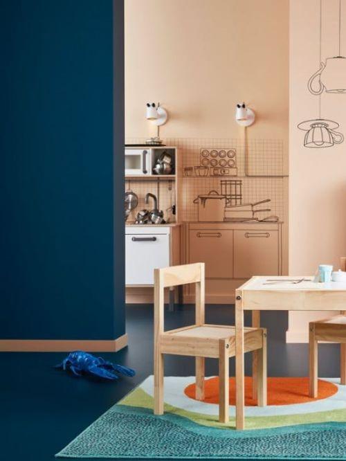 Inspiracje Farbiarskie Z Katalogu Ikea Rynekfarbpl