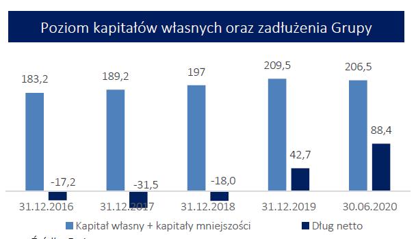 WSD - kapitały i zadłużenie