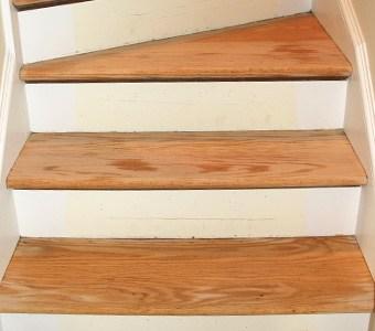 Hardwood Stair Refinishing Ryno Custom Flooring Inc   Sanding And Staining Stairs   Pine   Stair Railing   Wood Stairs   Stair Case   Stair Risers