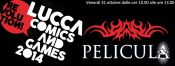 Lucca Comics and Games and Pelicula (achtung!)