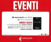 Pelicula presentato a Feltrinelli Brescia (achtung!)