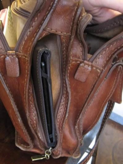 Nella mia borsa: fianco destro