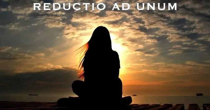 Reductio ad unum