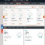 中国北京とスイスの天気、気温について調べてみました。