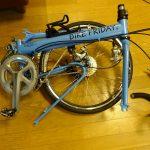Bike Friday PocketRocket入手、早速輪行箱の作成開始