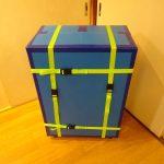 158cmサイズ:ミニベロ(BikeFriday)用輪行箱の作り方その9