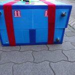 158cmサイズ:ミニベロ(BikeFriday)用輪行箱の作り方その10
