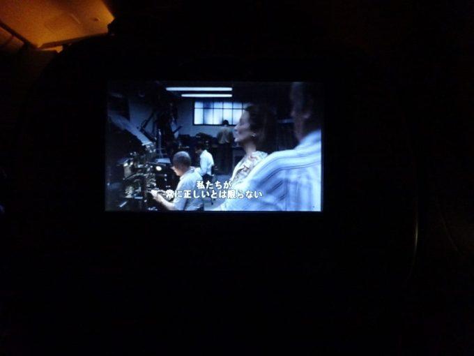 機内では映画三昧