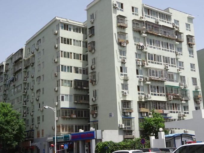 中国のエアコン工事