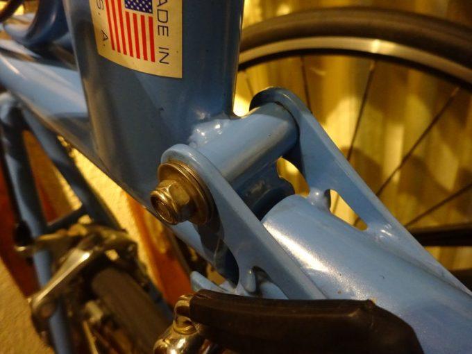 BikeFridayきしみ音の原因箇所