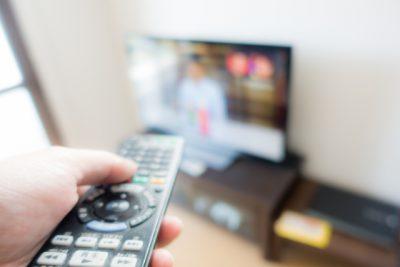 テレビとのつき合いかたを考えるのは、時間管理に必須のタスク。
