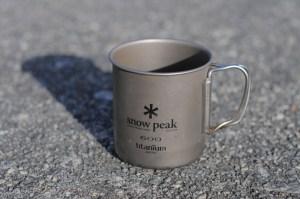 Snow Peak Trek 600 titanium mug