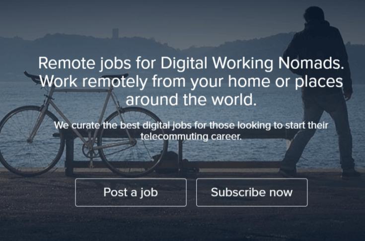 Remote Jobs Websites Working Nomads