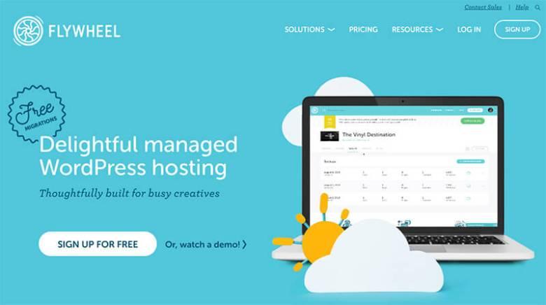 Piani di hosting Web con fatturazione mensile da Flywheel tra cui scegliere