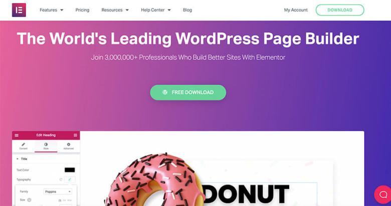 I migliori temi WordPress di Elementor per i blogger senza codifica
