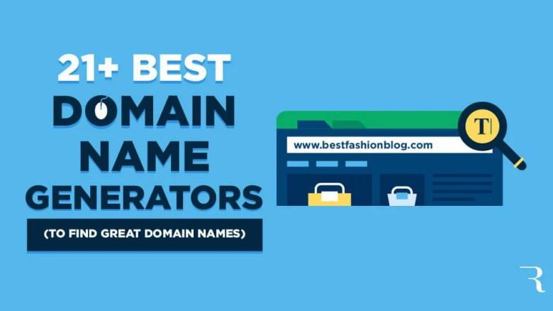 21 Generatori di nomi di dominio per trovare grandi idee per i nomi di dominio per i blogger
