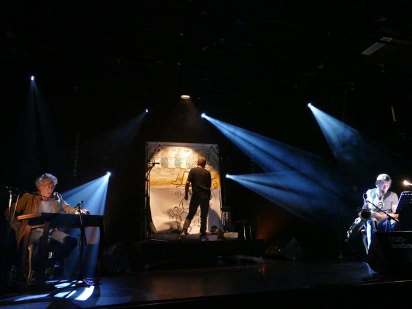 Chantier public : Albert MARCŒUR, Ronan Le GOURIÉREC et Yves MAGNE à Paris, octobre 2017