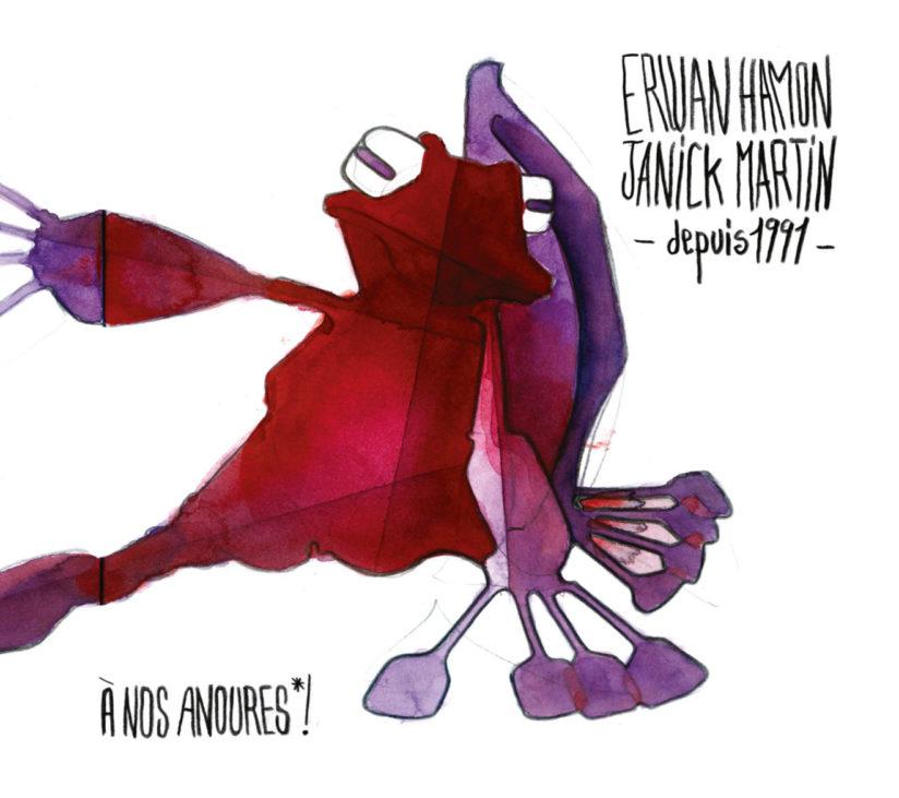 Erwan HAMON et Janick MARTIN – depuis 1991 – À nos Anoures !