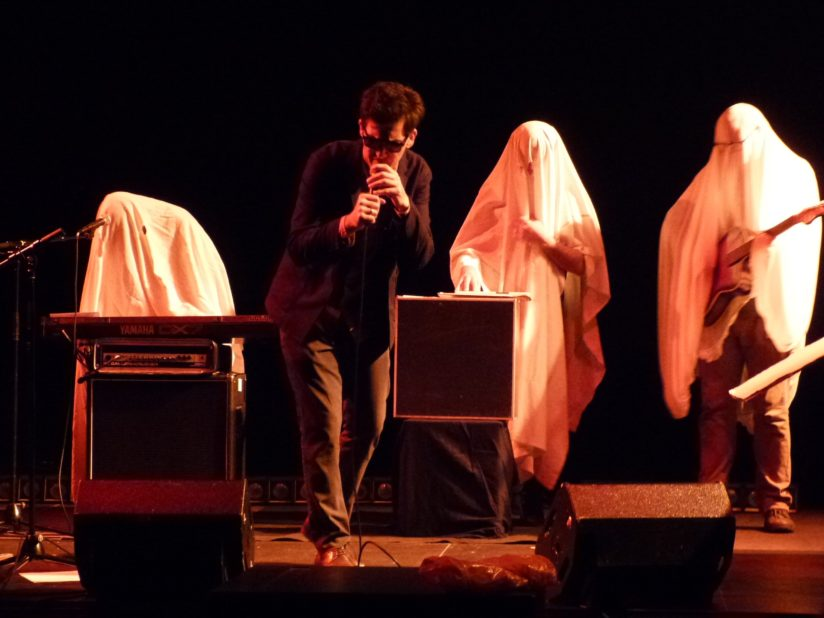 POREST GROUP, Les 15 ans du label Sublime Frequencies, au Théâtre Berthelot à Montreuil (93), novembre 2018