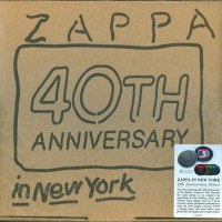 Frank ZAPPA - Zappa in New York (40th Anniversary Deluxe Edition)