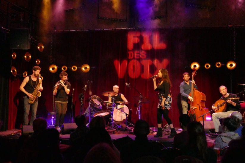CHARKHA au Festival Au Fil des Voix au Studio de l'Ermitage à Paris, février 2019