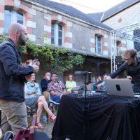 François ROBIN et Mathias DELPLANQUE, L'Ombre de la bête à Redon, le 25 juillet 2020