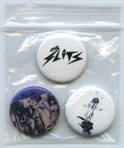 Badges The Slits