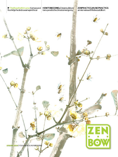 Cover of Zen Bow, Spring 2020