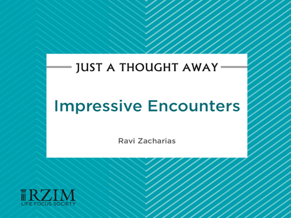 Just a Thought Away - Impressive Encounters