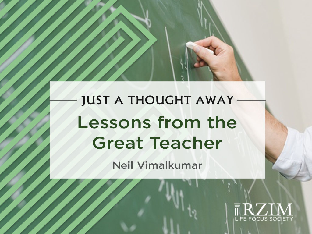 Lessons from the Great Teacher