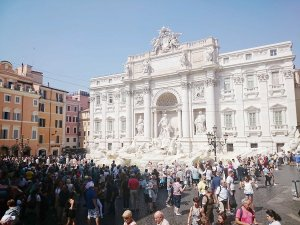 Rzym barokowy - Fontanna Trevi
