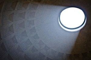 Rzym - Panteon - oculus