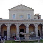 Rzym - Bazylika Santa Maria in Domnica - fasada