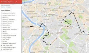 Rzym zwiedzanie w 4 dni - trasa 4