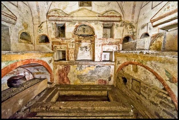 Podziemia Watykanu i grób św. Piotra 3