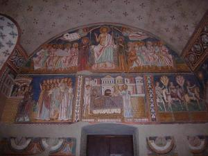 Rzym - bazylika Czterech Swiętych - fresk Oratorium św. Sylwestra