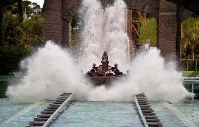 Rzym - lunapark Cinecittà World - atrakcje