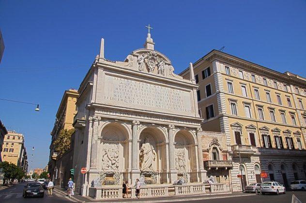 Rzym - Fontanna Mojżesza