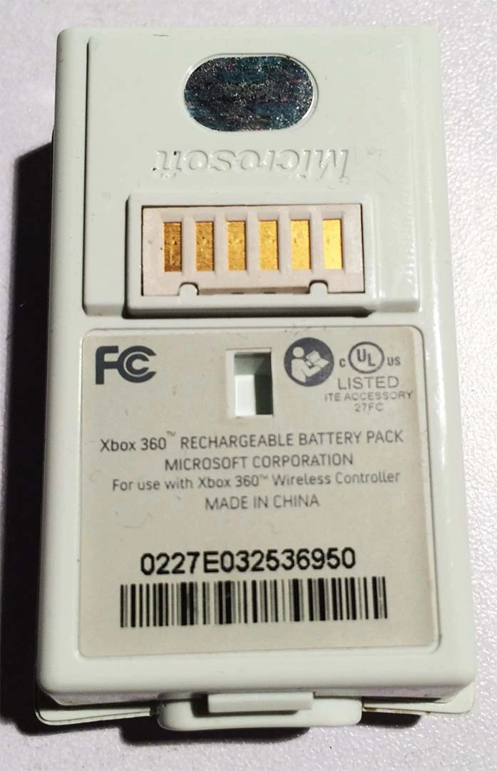 Li Po And Li Ion Battery For The Xbox 360 Controller S
