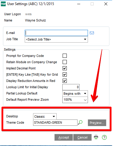How To Enable The New Sage 100c 2016 Interface