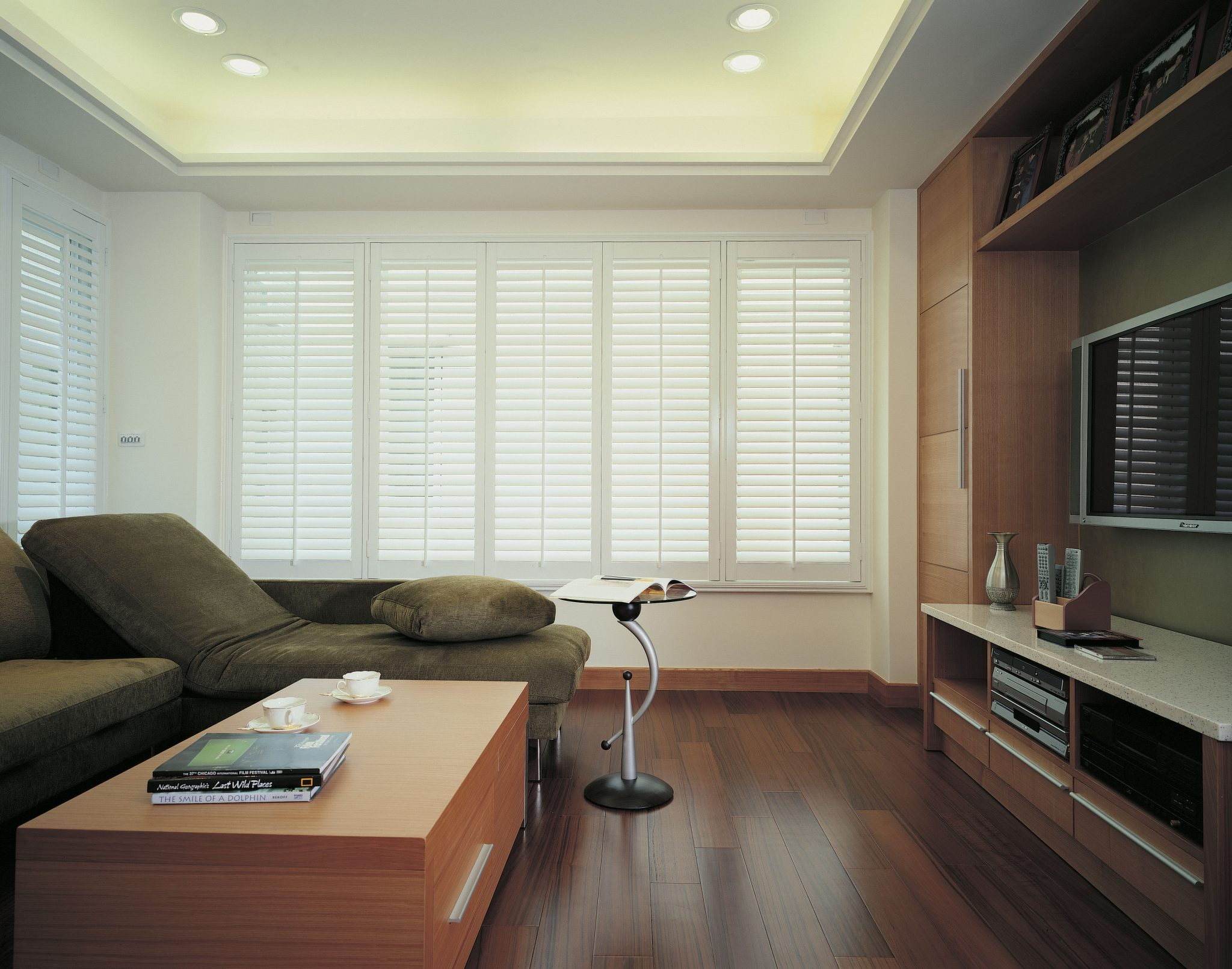 Shutter Gallery For Living Rooms From SCRAFT