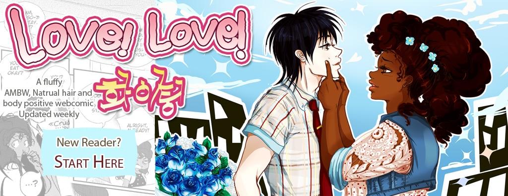 An Interracial anime couple