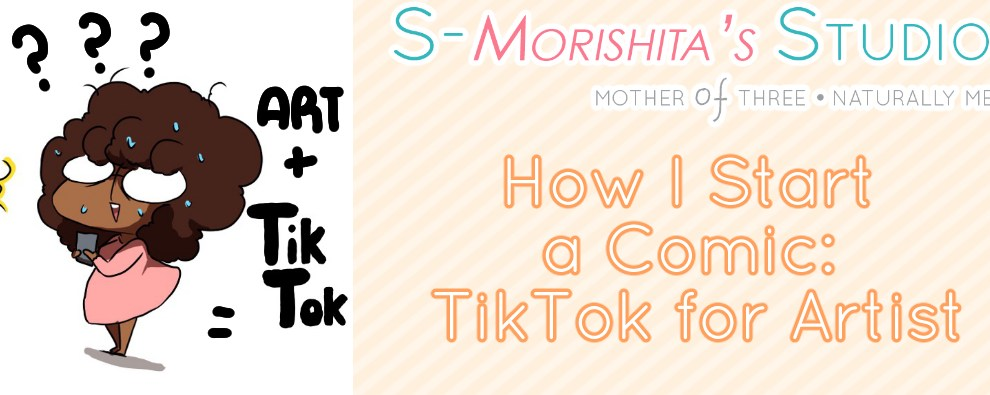 How to Start a Webtoon Comic: Promoting on TikTok