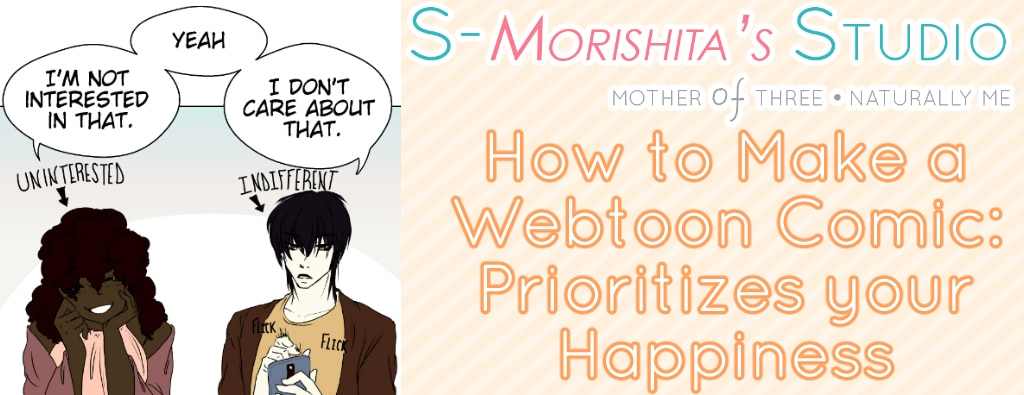 Mindset Prep for Making A Webtoon Comic