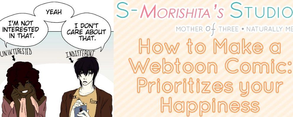Mindset Prep for Making A Webtoon Comic