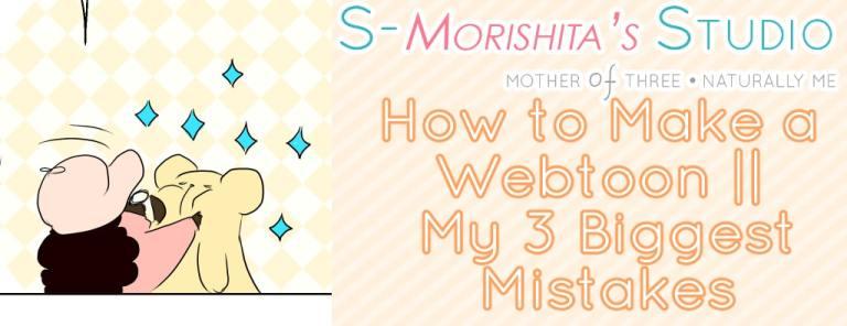 3 webtoon mistakes