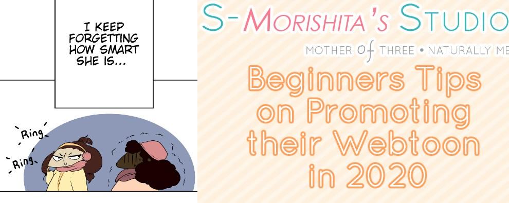 Beginners Tips on Promoting their Webtoon in 2020