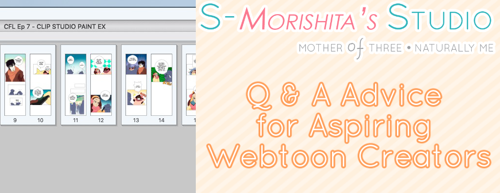 Q & A Advice for Aspiring Webtoon Creators